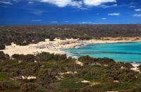 Остров Хриси в Иерапетре Гайдурониси или Хриси  Крит Греция