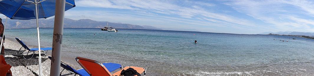 Η παραλία στα Φέρμα