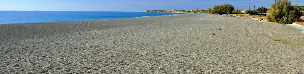 Beach at Koutsounari, Ierapetra