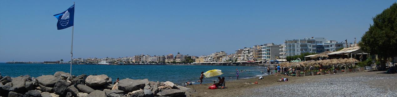 Spiaggia occidentale di Ierapetra