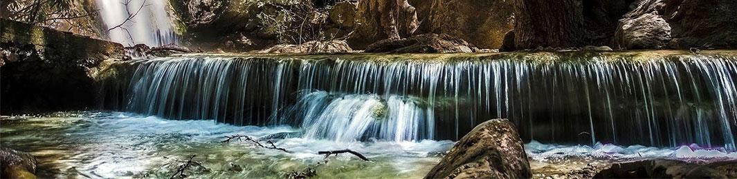 Le cascate di Milonas Ierapetra creta